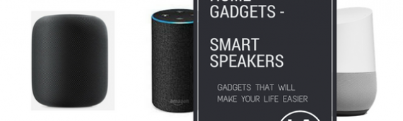 Top Smart Home Gadgets – Smart Speakers