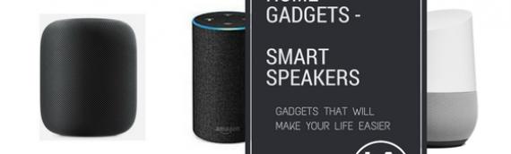 Top Smart Home Gadgets – Smart Speakers